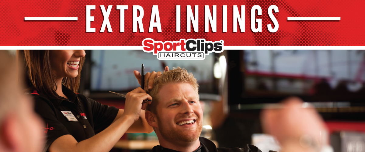 The Sport Clips Haircuts of Nashville - Bellevue Extra Innings Offerings