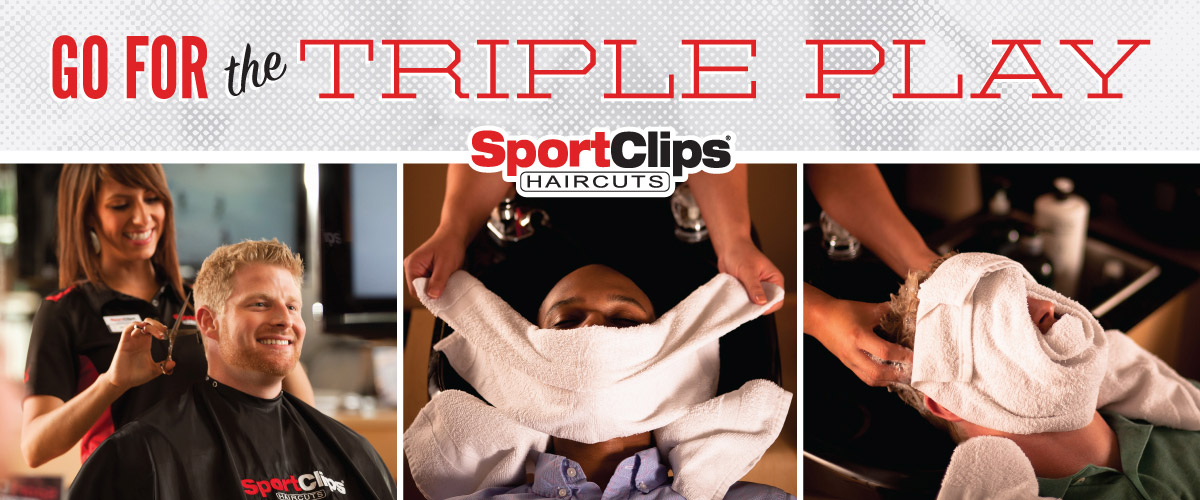 The Sport Clips Haircuts of Bellevue Triple Play